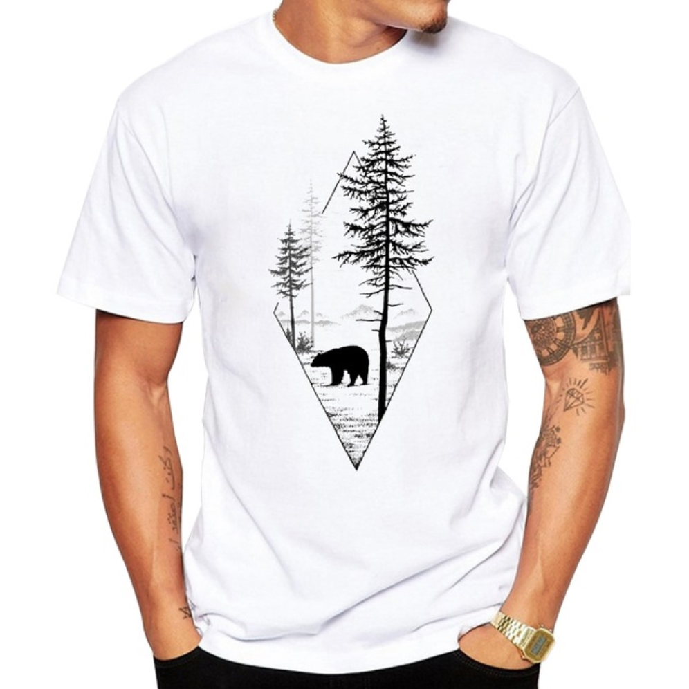 polar bear tshirt endangered specie clothing