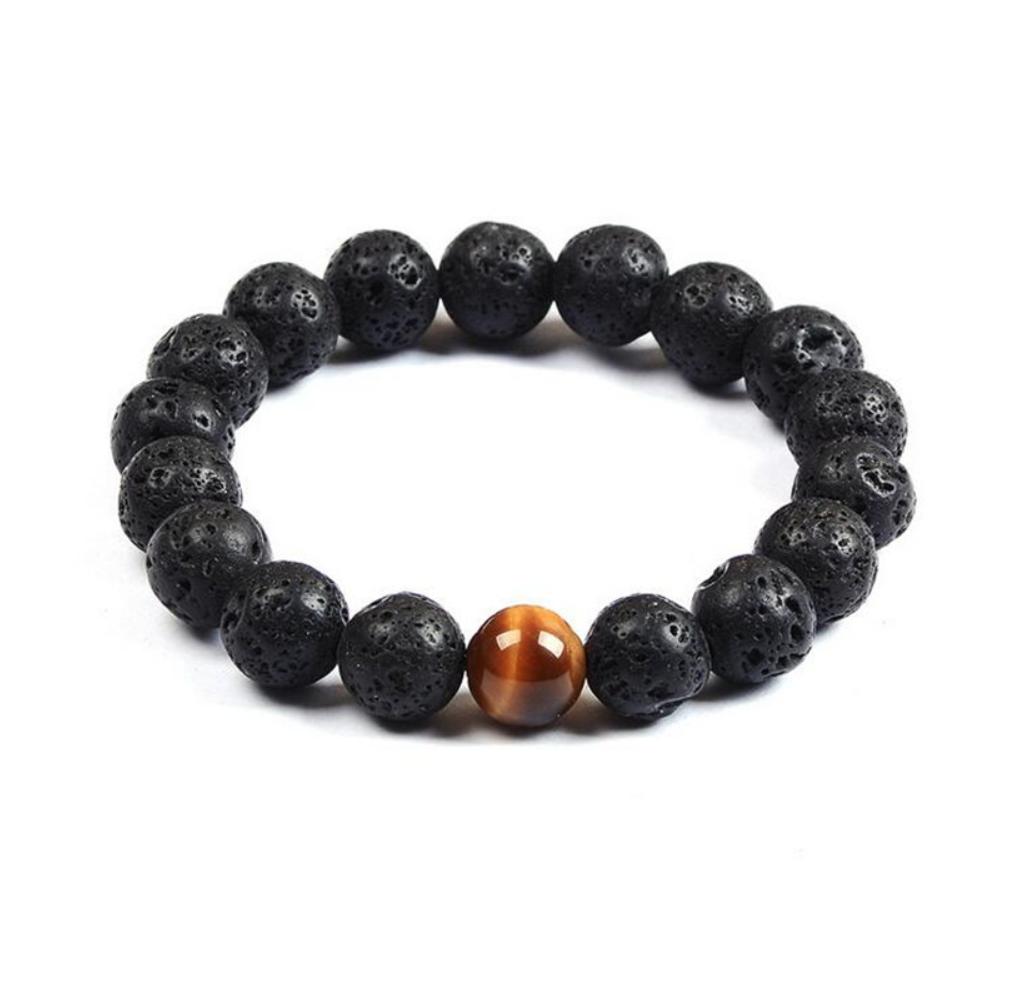 beads bracelet tiger jewelry