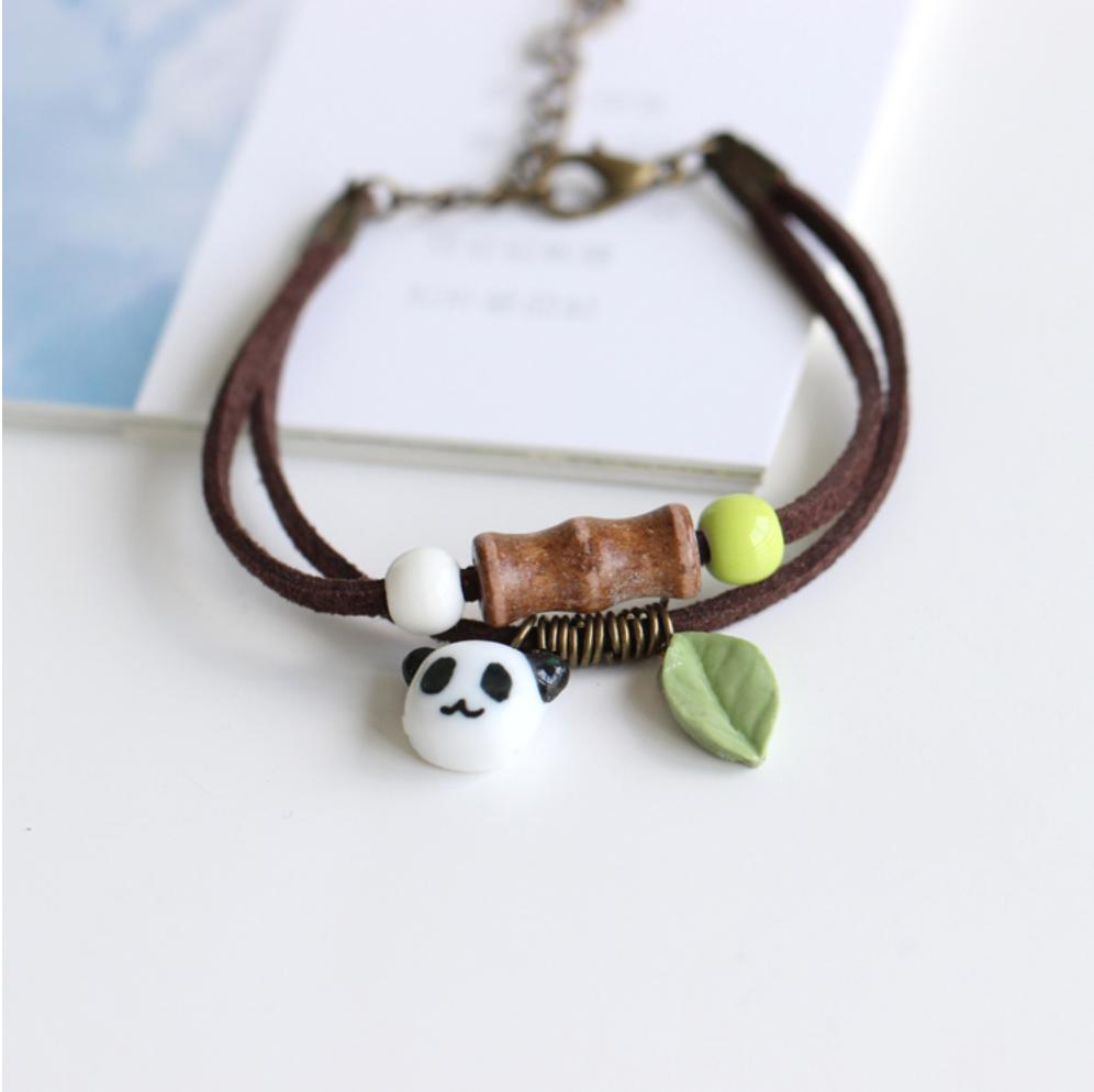 panda bracelet handmade