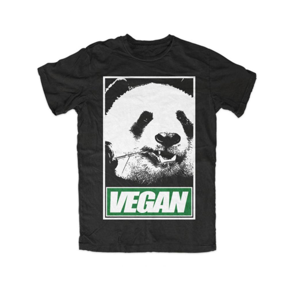panda vegan tshirt t shirt