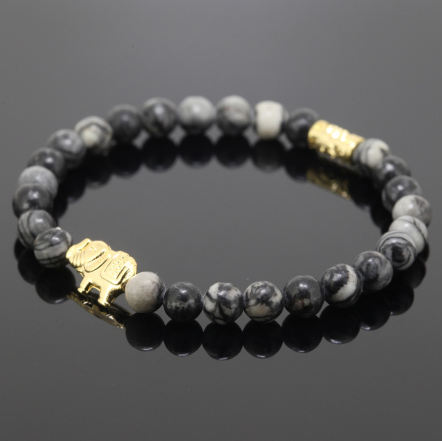 bracelet panda silver golden