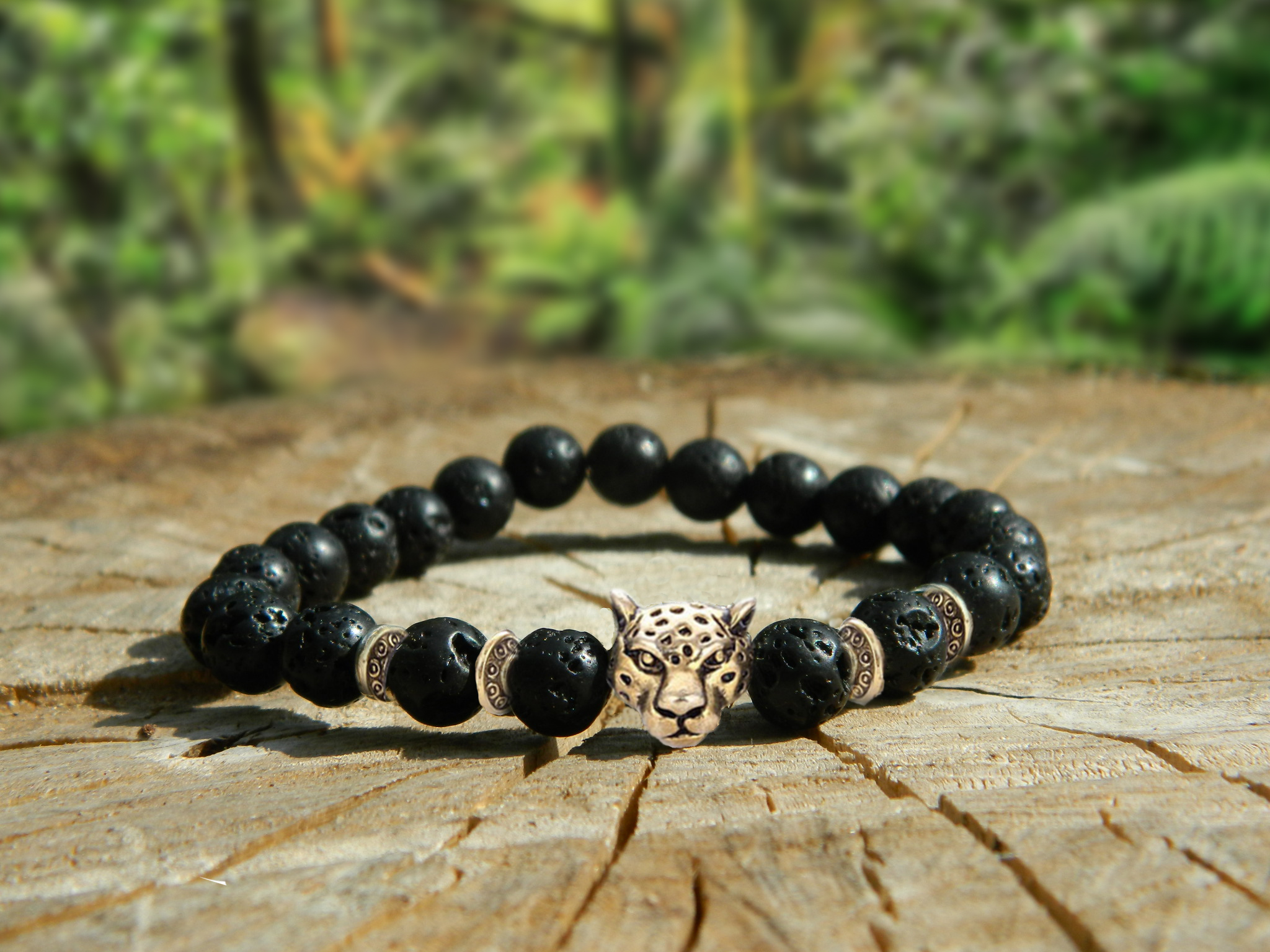 support tigers bracelet endangered bead