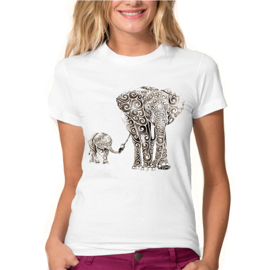tshirt elephant clothing endangered specie