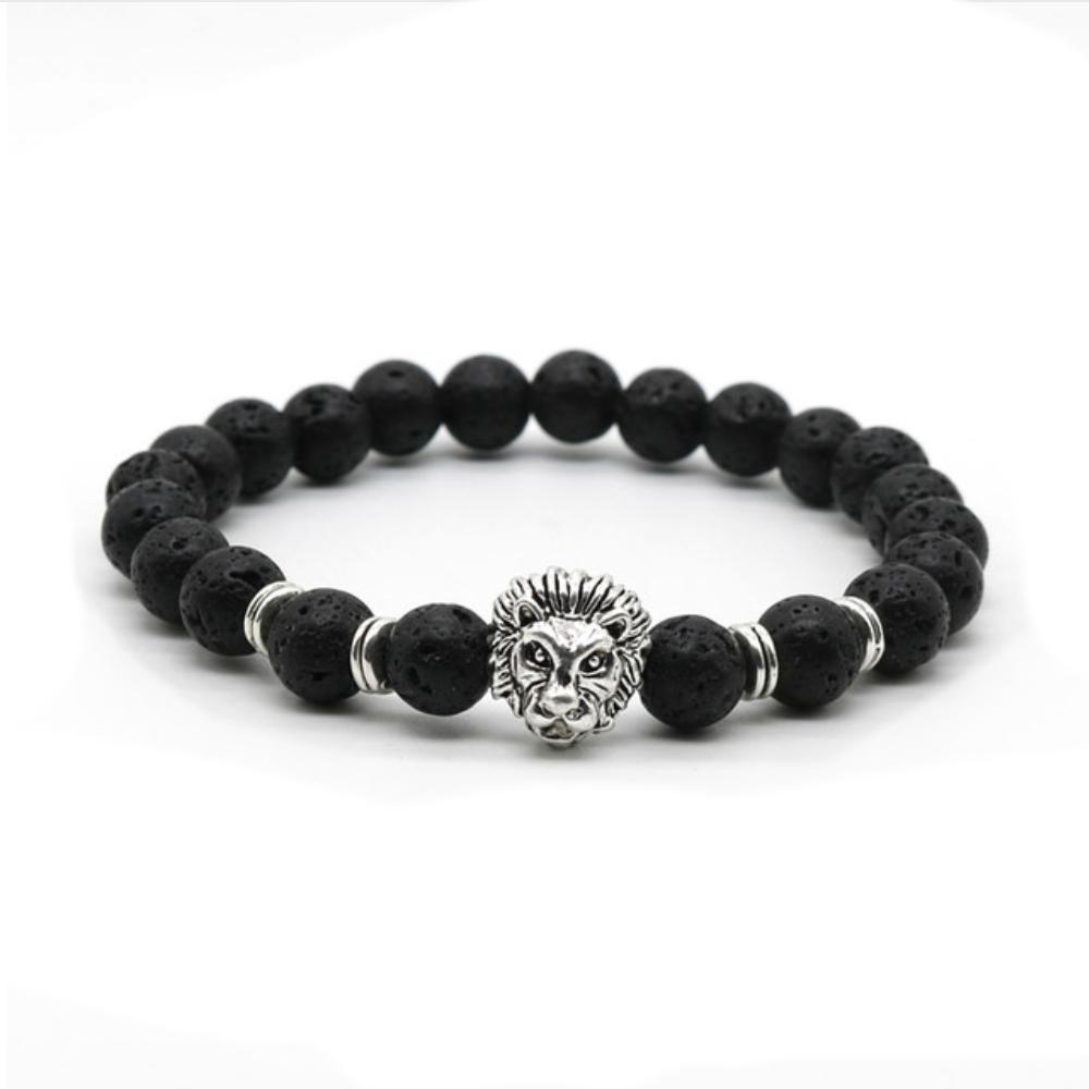 beads bracelet lion jewelry