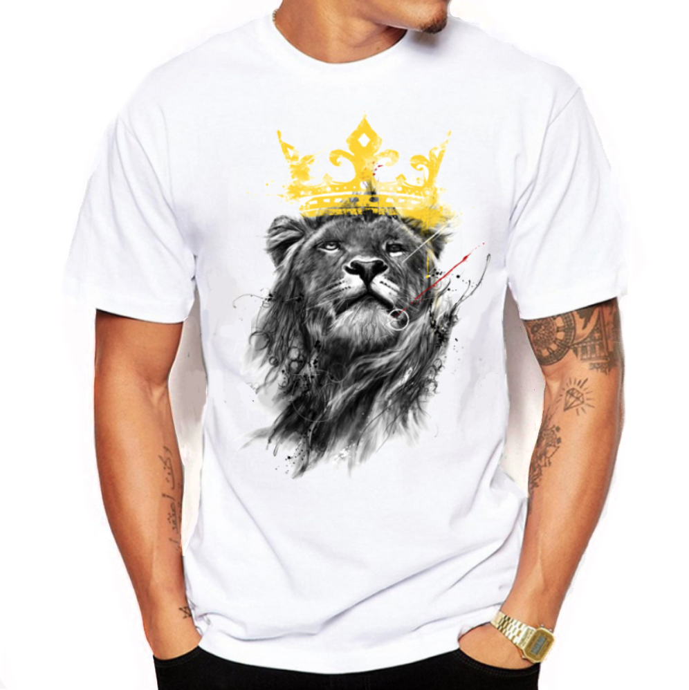 lion tshirt endangered specie clothing