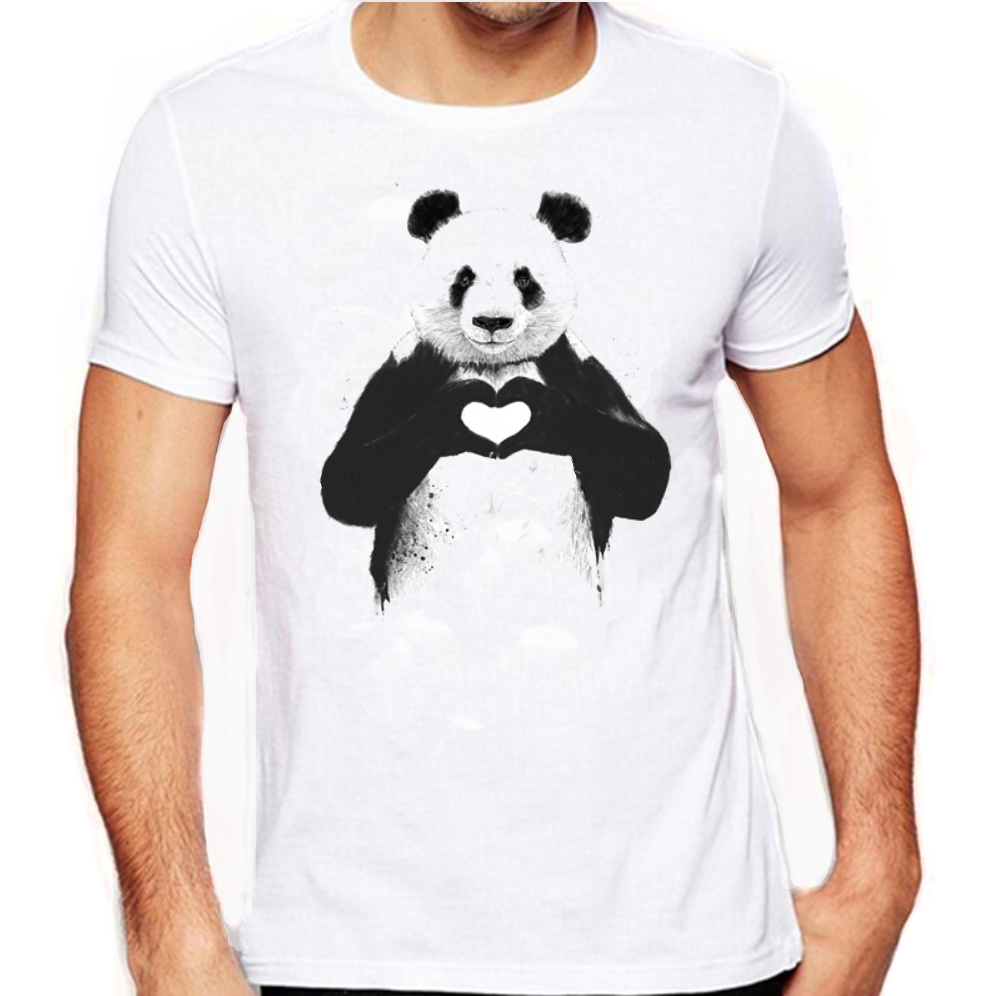 panda tshirt lover save the pandas