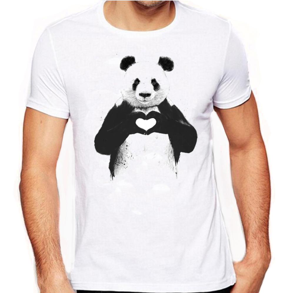 panda tshirt lover save the pandas