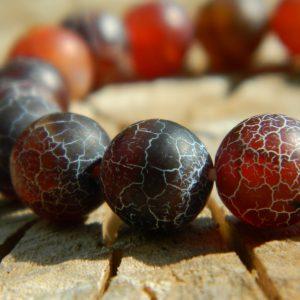 africa bracelet red bead